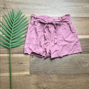 Have Los Angeles Linen Drawstring Paperbag Shorts